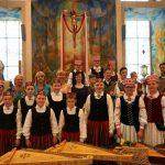 Po koncerto Šv. Pranciškaus Asyžiečio koplyčioje