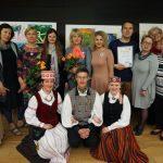 Menų krantų vadovų, mokytojų, rėmėjų komanda