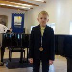 III vietos laureatas Evaldas Kaupas 2kl.